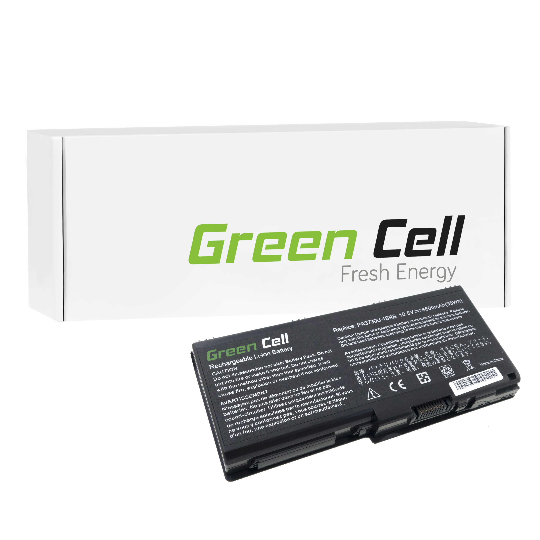Green Cell Notebook Battery for Toshiba Satellite P505-S8025 Laptop (8800mAh) - <span itemprop=availableAtOrFrom>Kraków, Polska</span> - Zwroty są przyjmowane - Kraków, Polska