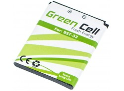 Batterie Green Cell ® für das Telefon Sony Ericsson K550i K800i W850i W880