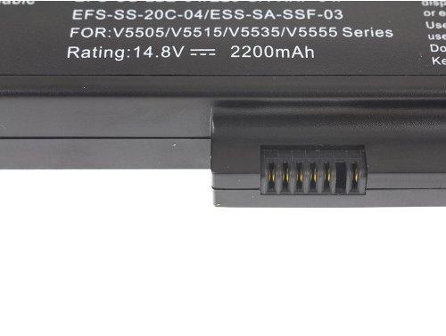 Green Cell ® Laptop Akku SDI-HFS-SS-22F-06 für Fujitsu-Siemens Esprimo Mobile V5515 V5535 V5555 V6515 V6555