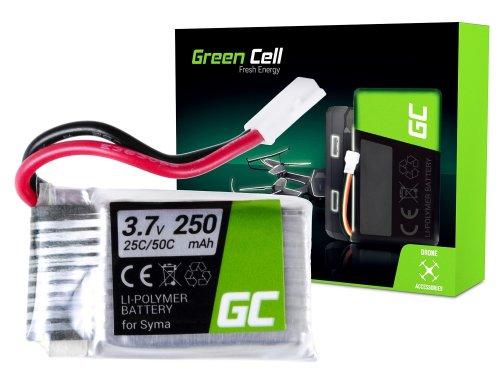 Batterie Green Cell Cell® pro Sym X11 X11C X13 Storm 3,7 V 250 mAh