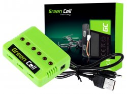 Green Cell RC Charger pro Syma Hubsan JJRC Wltoys 3.7V