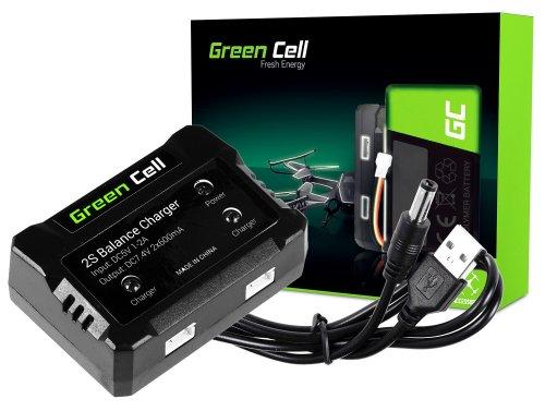 Ladeprogramm Green Cell ® Für Drohnenbatterien/Hubschrauber Syma Hubsan JJRC Wltoys Über die Spannung 7.4V