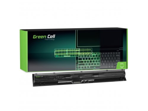 Green Cell ® Laptop Akku KI04 für HP Pavilion 14-AB 15-AB 15-AK 17-G