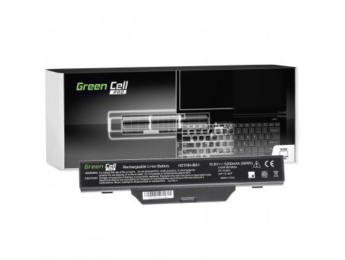Green Cell ® Laptop Akku HSTNN-IB51 für HP 550 610 615 Compaq 550 610 615 6720 6830