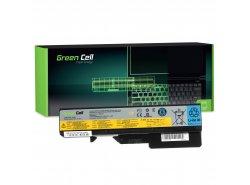 Baterie notebooku pro Green Cell telefony L09L6Y02 pro IBM Lenovo B570 G560 G570 G575 G770 G780