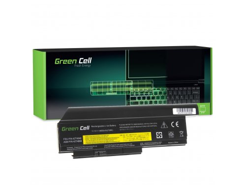 Green Cell ® Laptop Akku 42T4940 42T4868 für Lenovo ThinkPad X220 X220i X220s 6600 mAh