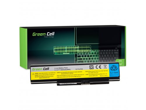 Green Cell ® Laptop Akku 121TS0A0A für IBM Lenovo IdeaPad Y510 Y530 Y710 Y730