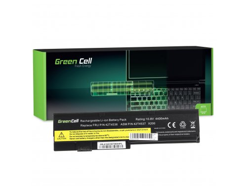 Green Cell Laptop Akku 42T4536 42T4650 für Lenovo ThinkPad X200 X200s X201 X201s X201i