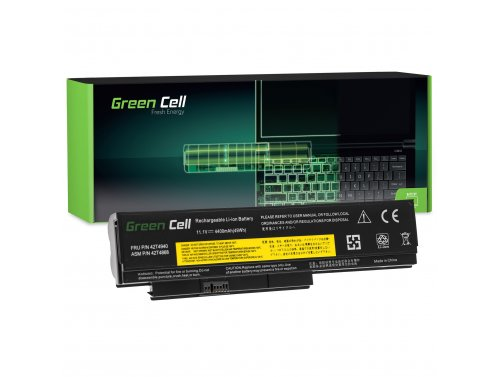 Green Cell Laptop Akku 42T4861 42T4940 für Lenovo ThinkPad X220 X220i X220s