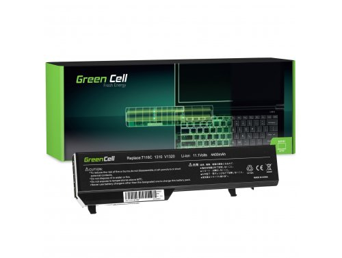 Green Cell ® Laptop Akku K738H T114C für Dell Vostro 1310 1320 1510 1511 1520 2510