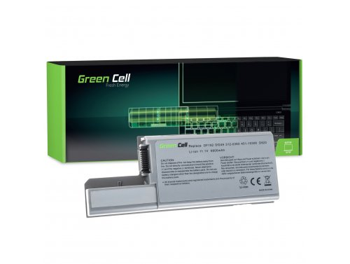 Green Cell ® Laptop Akku CF623 DF192 für Dell Latitude D531 D531N D820 D830 PP04X Precision M65 M4300