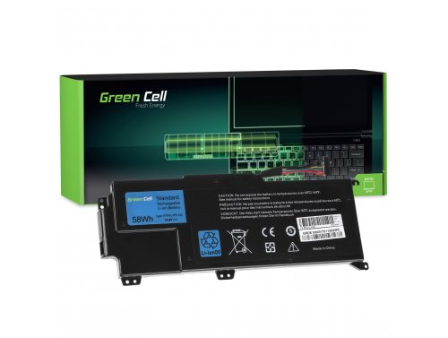 Green Cell PRO ® Laptop Akku YMYF6 V79Y0 für Dell XPS 14z L412z