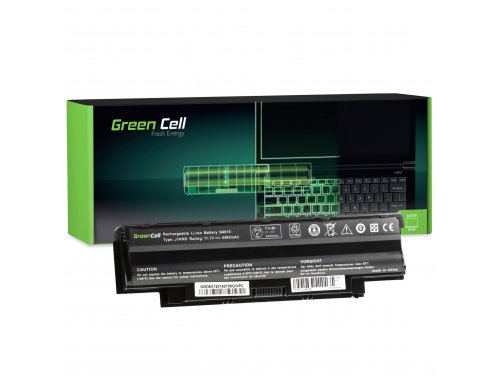 Baterie notebooků Green Cell Cell® J1KND pro Dell Inspiron 15 N5010 15R N5010 N5010 N5110 14R N5110 3550 Vostro 3550