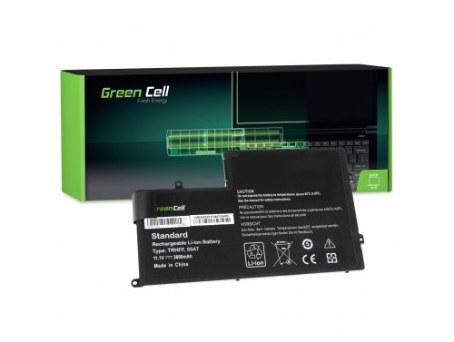 Green Cell ® Laptop Akku TRHFF für Dell Inspiron 15 5542 5543 5545 5547 5548 Latitude 3450 3550