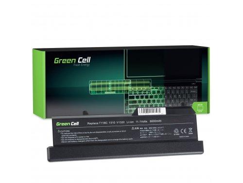 Green Cell Laptop Akku K738H T116C für Dell Vostro 1310 1320 1510 1511 1520 2510