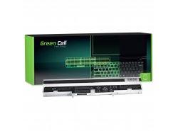 Baterie notebooků Green Cell Cell® A41-U36 A42-U36 pro Asus U32 U32JC U32U U36 U36J U36JC U36S U36SD U36SG X32 X32U bílá
