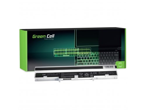 Green Cell ® Laptop Akku A41-U36 A42-U36 für Asus U32 U32J U32JC U32U U36 U36J U36JC U36S U36SD U36SG X32 X32U weiß