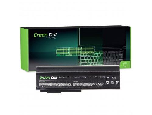 Green Cell ® Laptop Akku A32-M50 A32-N61 für Asus G50 G51 G60 M50 M50V N53 N53SV