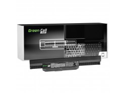 Green Cell ® Laptop Akku A32-K53 für Asus K53 K53E K53S K53SV X53 X53S X53U X54 X54C X54H
