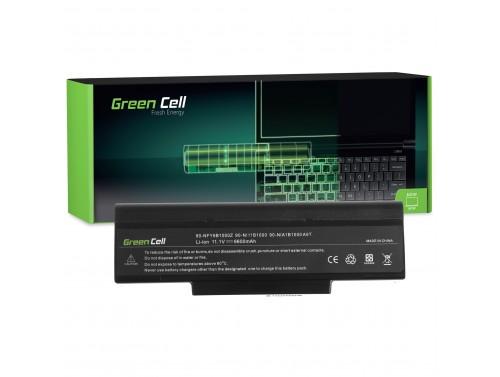 Green Cell Laptop Akku BTY-M66 für Asus A9 A9000 X56SE COMPAL EL80 EL81 FL90 FL92 GL30 GL31 HGL31 JHL90 LG E500 MSI GE600