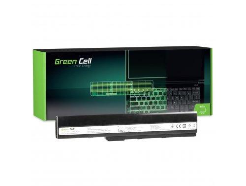Green Cell Laptop Akku A32-K52 für Asus A52 A52F A52N K42 K52 K52D K52F K52J K52JB K52JC K52JE K52JR K52N X52 X52F X52J X52N