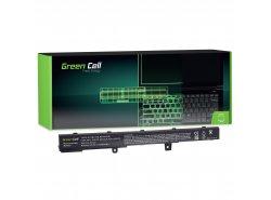 Green Cell Laptop Akku A41N1308 A31N1319 für Asus R508 R509 R512 R512C X551 X551C X551CA X551M X551MA X551MAV X751L
