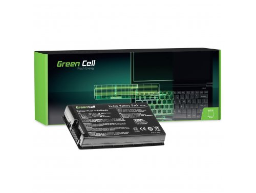 Green Cell Laptop Akku A32-F80 A32-F80A für Asus F50 F50SL F50Q F50Z F80 F80H F80L F80S F81 N60 X60 X61 X61G X61S X61Z X61SL