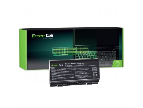 Green Cell Laptop Akku A32-X51 A32-T12 für Asus X51 X51C X51H X51L X51R X51RL X51Q X58 X58C X58L X58LE