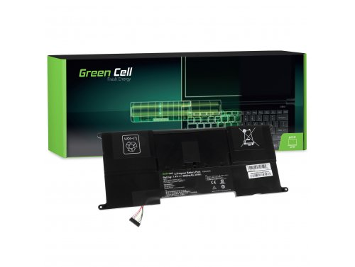Green Cell ® Laptop Akku C23-UX21 für Asus ZenBook UX21 UX21A UX21E