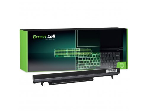 Green Cell Laptop Akku A41-K56 A32-K56 für Asus K56 K56C K56CA K56CB K56CM K56V R505 S46 S46C S46CA S56 S56C S56CA
