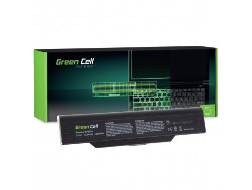 Green Cell Laptop Akku BP-8050 für Fujitsu-Siemens Amilo M1420 L1300 L7310W Systemax Neotach 3300