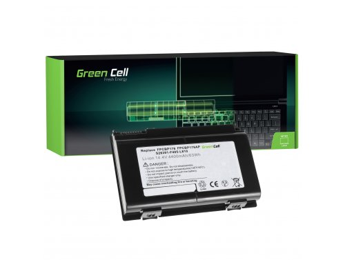 Green Cell ® Laptop Akku FPCBP176 für Fujitsu LifeBook E8410 E8420 E780 N7010 AH550 NH570