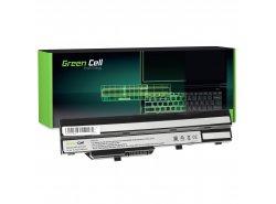 Green Cell Laptop Akku BTY-S11 BTY-S12 für MSI Wind U90 U100 U110 U120 U130 U135 U135DX U200 U250 U270