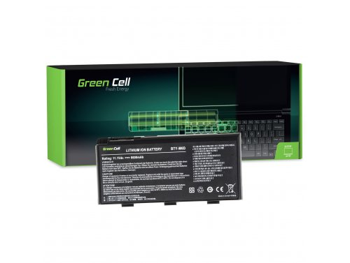 Green Cell ® Laptop Akku BTY-M6D für MSI GT60 GX660 GX780 GT70 Dragon Edition 2