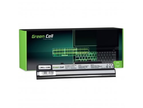 Green Cell Laptop Akku BTY-S12 BTY-S11 für MSI Wind U100 U250 U135DX U270 MOUSE LuvBook U100 PROLINE U100 Roverbook Neo U100