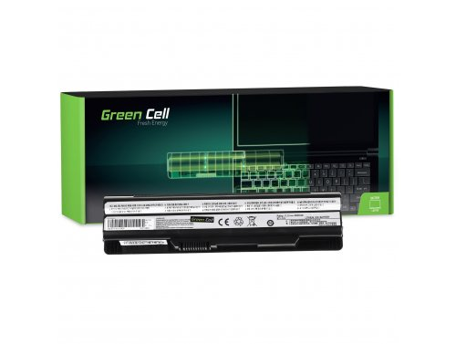 Green Cell ® laptop baterie BTY-S14 pro MSI CR650 CX650 FX600 GE60 GE70