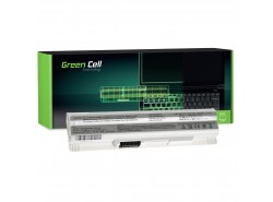 Green Cell Laptop Akku BTY-S12 BTY-S11 für MSI Wind U100 U250 U270 U135DX MOUSE LuvBook U100 PROLINE U100 Roverbook Neo U100