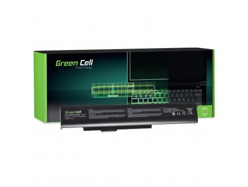 Green Cell Laptop Akku A32-A15 A41-A15 A42-A15 für MSI A6400 CR640 CR640DX CR640MX CX640 CX640MX MS-16Y1 10.8V
