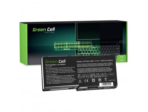 Green Cell Laptop Akku PA3729U-1BRS PA3730U-1BRS für Toshiba Qosmio G60 X500 X505 Satellite P500 P505 P505D