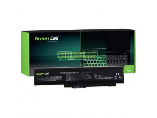 Green Cell Laptop Akku PA3593U-1BRS PABAS111 für Toshiba Satellite Pro U300 U300-150 U300-151 U305 Portege M600 Tecra M8