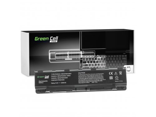 Green Cell ® Laptop Akku PA5024U-1BRS für Toshiba Satellite C850 L850 C855 L855 5200mAh
