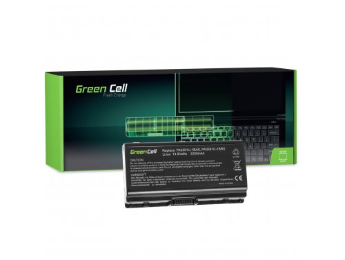Green Cell ® Laptop Akku PA3615U-1BRM für Toshiba Satellite L40 L45 L401 L402