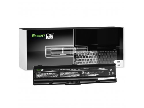 Green Cell PRO Laptop Akku PA3534U-1BRS für Toshiba Satellite A200 A205 A300 A300D A350 A500 L200 L300 L300D L305 L450 L500