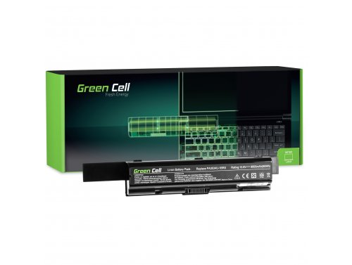 Green Cell ® Laptop Akku PA3534U-1BRS für Toshiba Satellite A200 A300 A500 L200 L300 L500