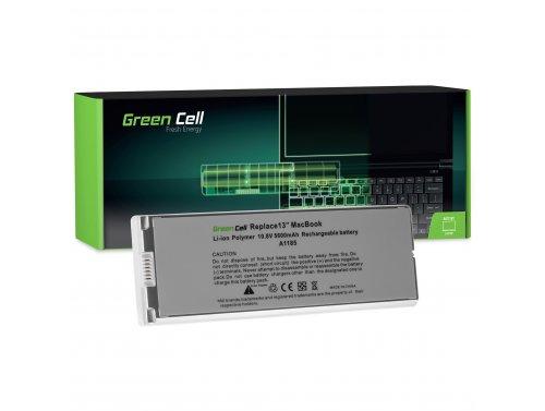 Green Cell ® Laptop Akku A1185 für Apple MacBook 13 A1181 2006-2009