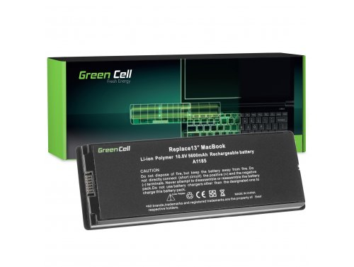 Green Cell Laptop Akku A1185 für Apple MacBook 13 A1181 2006-2009