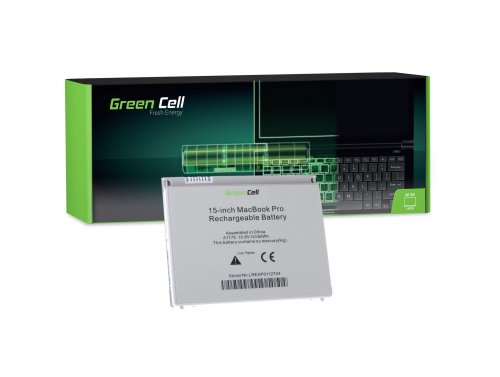 Green Cell ® Laptop Akku A1175 für Apple MacBook Pro 15 A1150 A1211 A1226 A1260 2006-2008