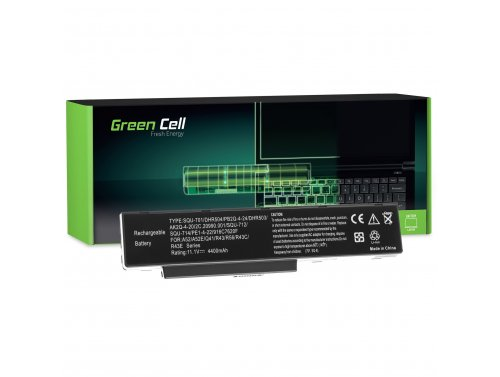 Green Cell Laptop Akku DHR503 für Joybook A52 A53 C41 R42 R43 R43C R43CE R56 und Packard Bell EASYNOTE MB55 MB85 MH35 MH45 MH88