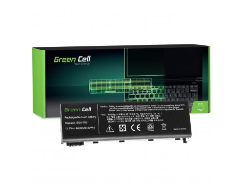 Green Cell Laptop Akku SQU-702 SQU-703 für LG E510 E510-G E510-L Tsunami Walker 4000