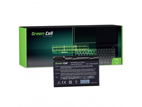 Green Cell ® Laptop Akku BATBL50L6 für Acer Aspire 3100 3690 5010 5100 5610 5630